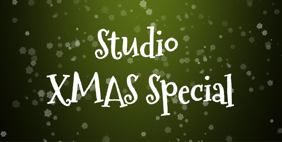 Studio Christmas SALE: 3 Halen / 2 Betalen!