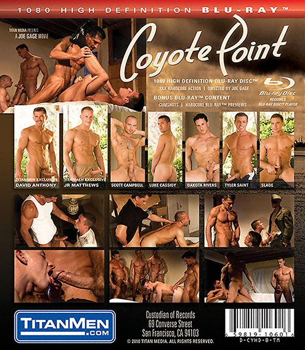 Coyote Point BLU-RAY - Back