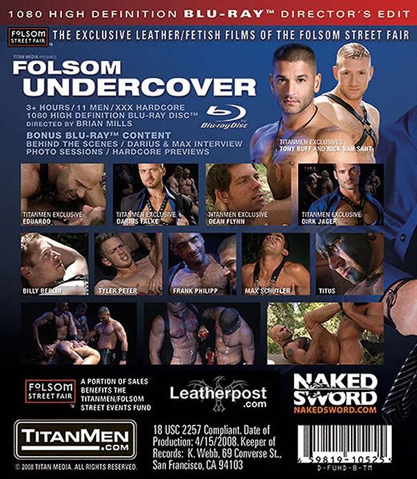 Folsom Undercover BLU-RAY - Back