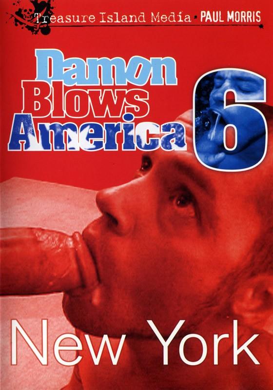 Damon Blows America #6 DVD - Front