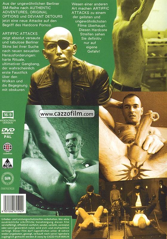 Artiffic Attacks DVD - Back