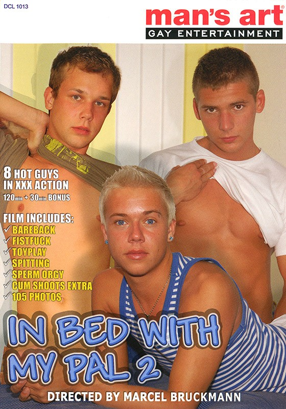 In Bed With My Pal #2 DVD - Front