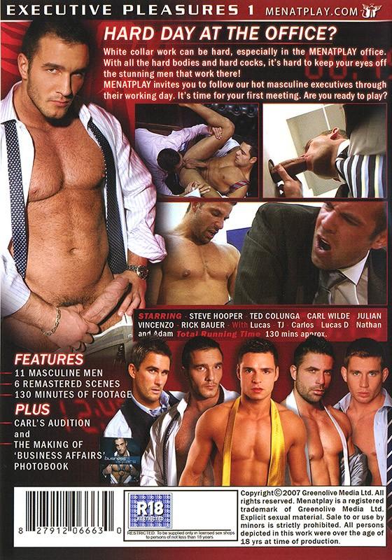 Executive Pleasures 1 DVD - Back