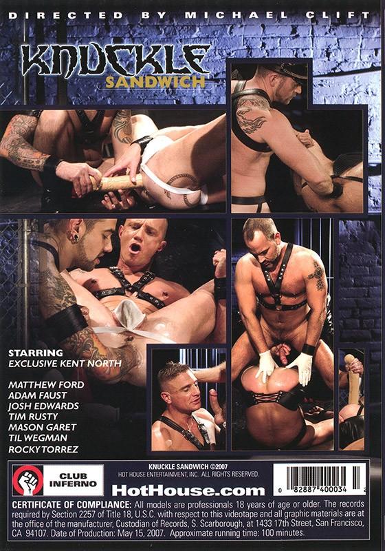 Knuckle Sandwich DVD - Back