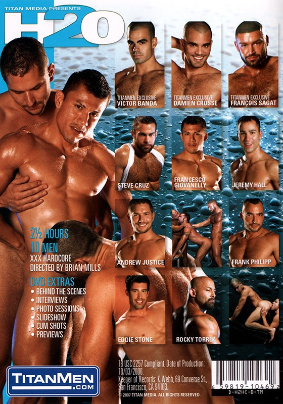 H2O DVD - Back