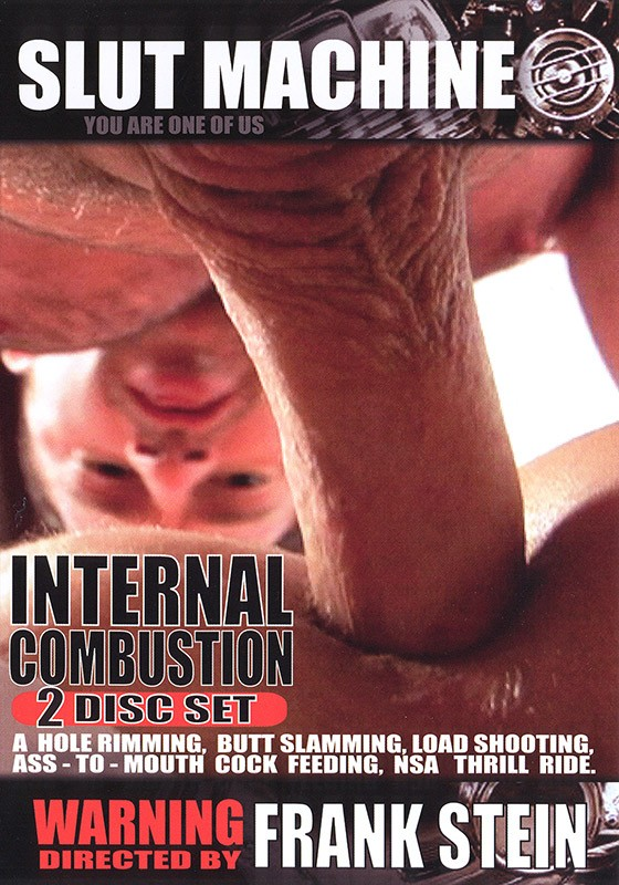 Internal Combustion DVD - Front