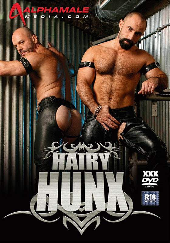 Hairy Hunx: Rough & Ready DVD - Front