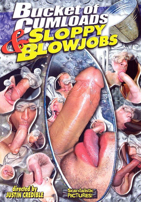 Bucket of Cumloads & Sloppy Blowjobs DVD - Front