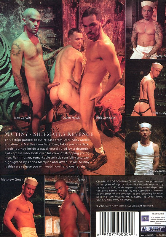Mutiny DVD - Back