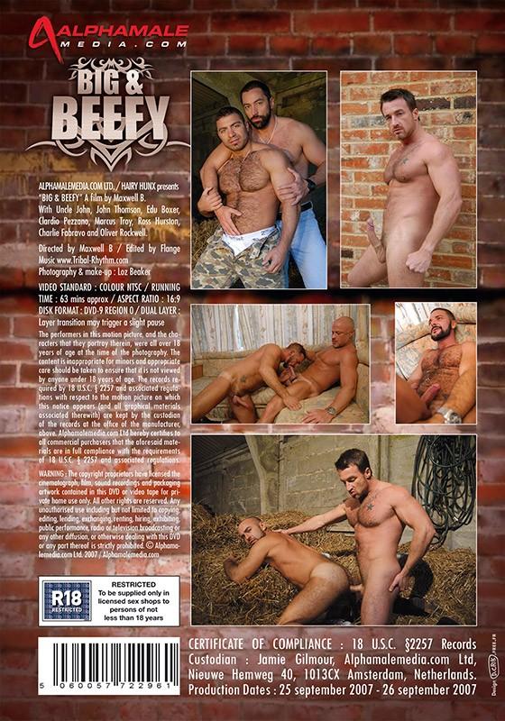 Big & Beefy DVD - Back