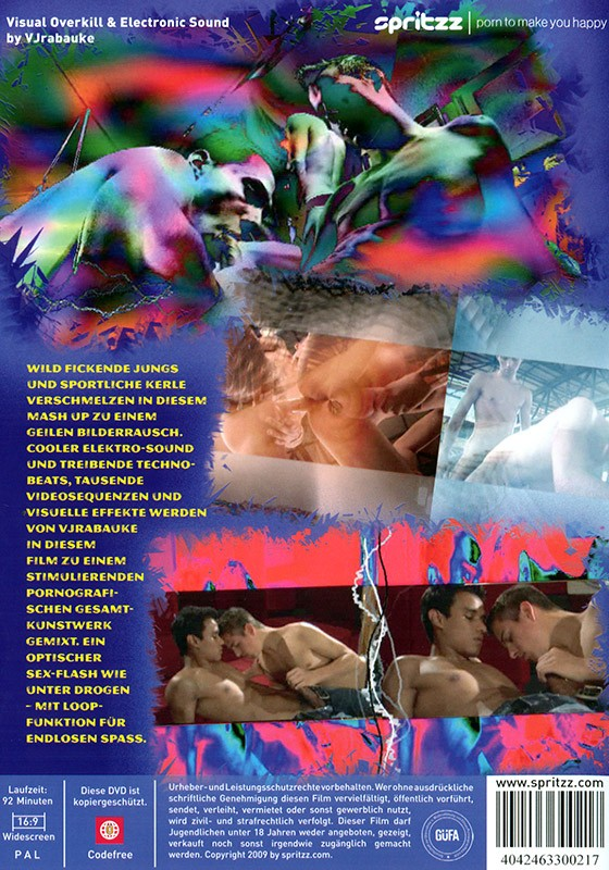 Porn Shock DVD - Back