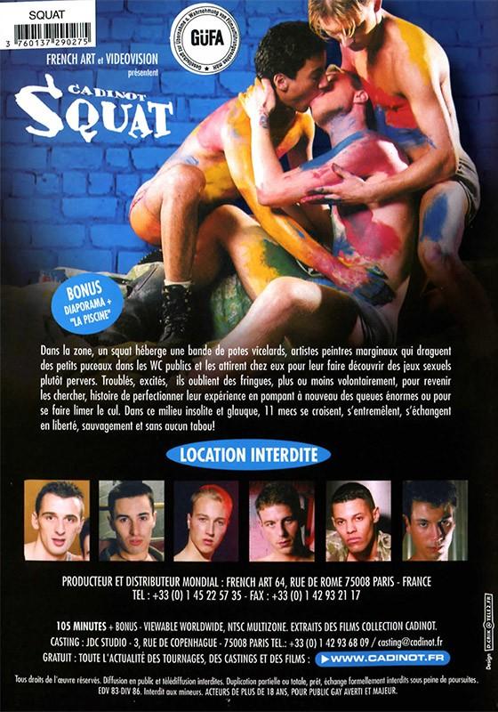 Cadinot Squat DVD - Back