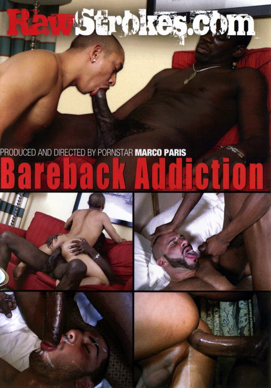 Bareback Addiction (Raw Strokes) DVD - Front