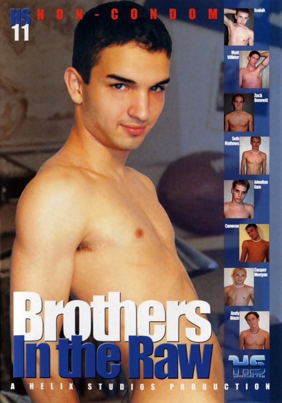 Brothers In The Raw DVD - Front