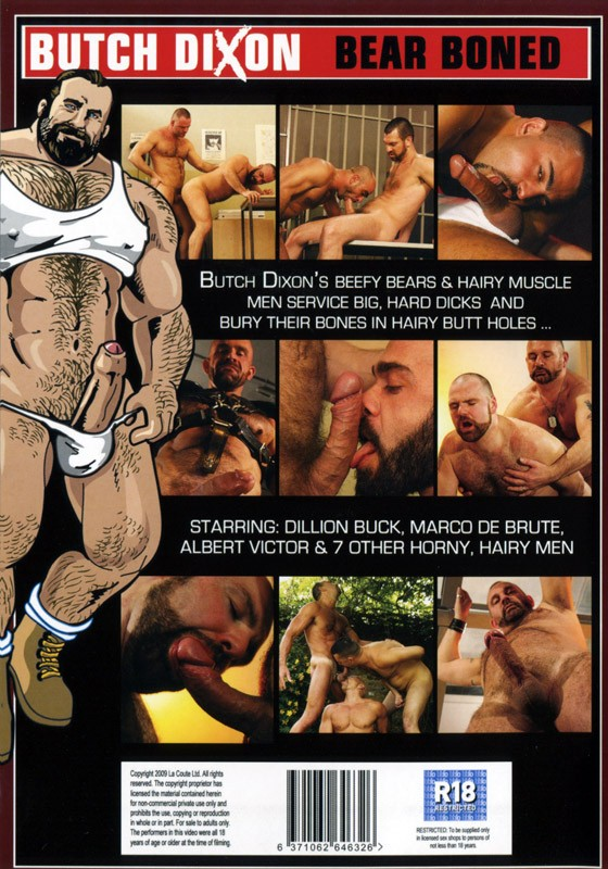 Bear Boned DVD - Back