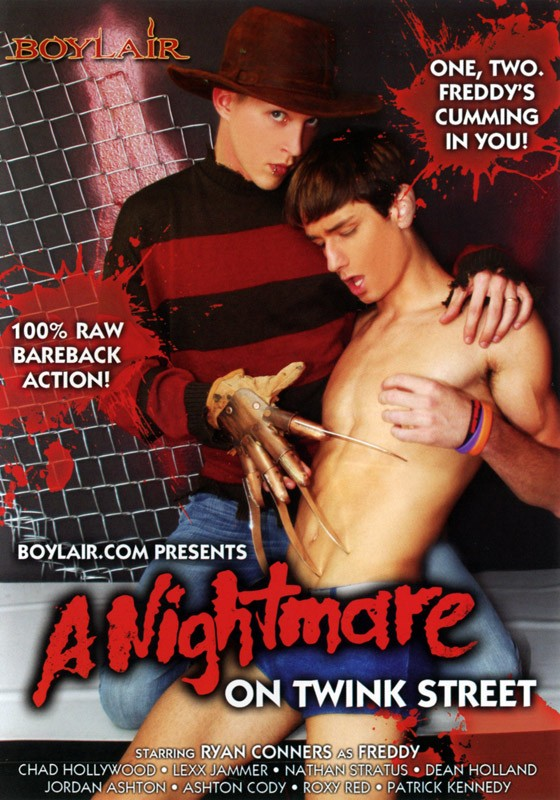 A Nightmare on Twink Street DVD - Front