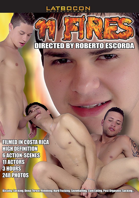 11 Fires DVD - Front