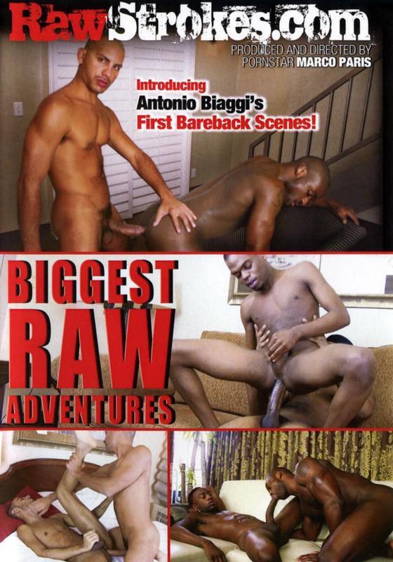 Biggest Raw Adventures DVD - Front