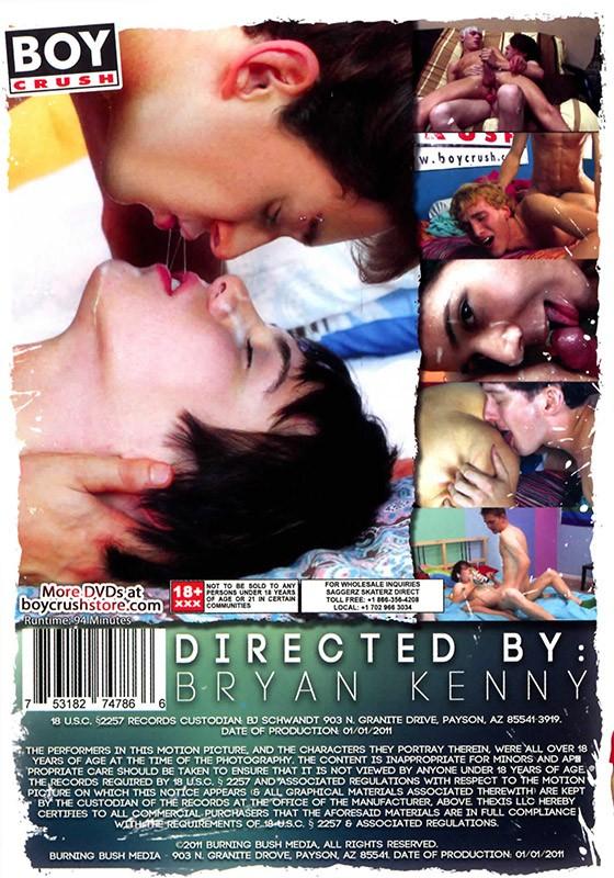 Boy Crush Tryouts DVD - Back