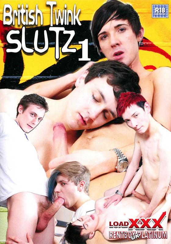 British Twink Slutz 1 DVD - Front