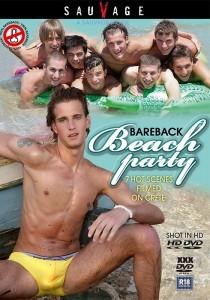 Bareback Beach Party (SauVage) DVDR (NC)