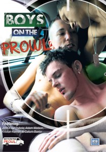 Boys On The Prowl DVD - Front