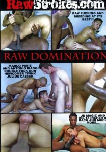 Raw Domination DVD - Front