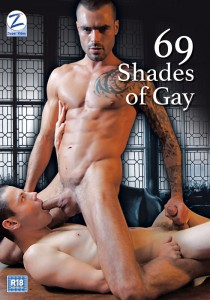 69 Shades Of Gay DVD - Front