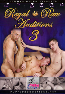 Royal Raw Auditions 3 DVD - Front