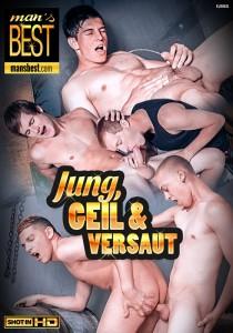 Jung, Geil & Versaut DVD - Front