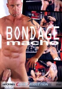 Bondage Macho DVD - Front