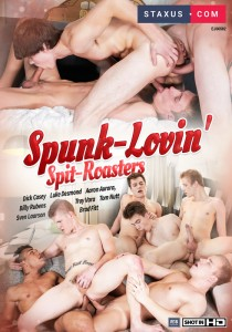 Spunk-Lovin' Spit-Roasters DVD - Front