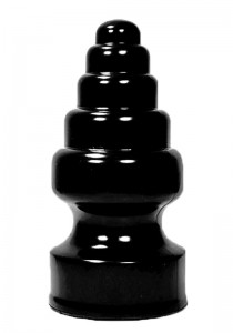 All Black AB53 Dildo - Front