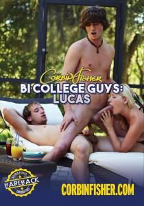Bi College Guys: Lucas DVD - Front