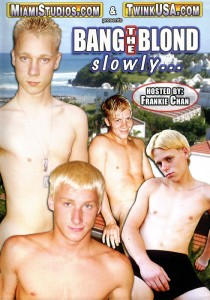 Bang the Blonde Slowly... DVD (NC)