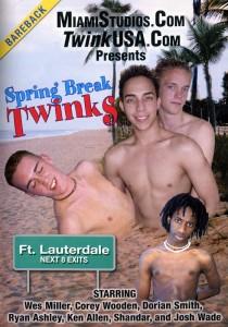 Spring Break Twinks DVDR