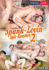 Spunk-Lovin' Spit-Roasters 2 DVDR (NC)