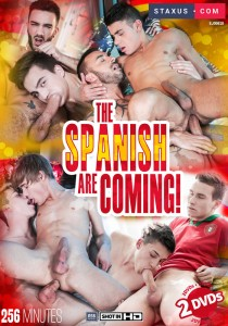 The Spanish Are Coming! DVDR