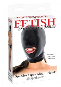 FF Spandex Open Mouth Hood - Black