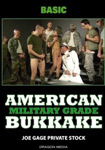 American Bukkake: Military Grade DVD (S)