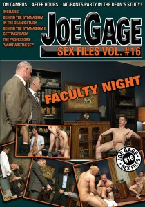 Joe Gage Sex Files vol. #16: Faculty Night DVD
