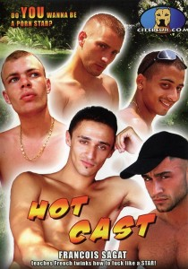 Hot Cast (Do You Wanna Be A Pornstar?) DVD (S)