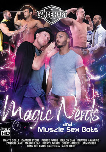 Magic Nerds & Muscle Sex Bots DVD