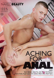Aching for Anal DVD