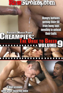 Creampies: The Urge To Breed volume 9 DVD (S)