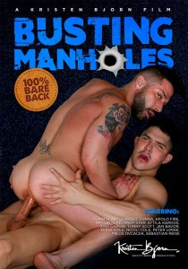 Busting Manholes DVD (S)