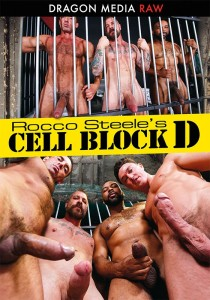 Rocco Steele's Cell Block D DVD (S)