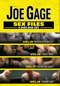 Joe Gage 4 Disc Box Set: Sex Files 15/16/17/18 DVD